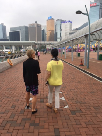 Walking Coaching - harbourfront