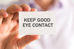 Business Communication Skills Tip – Eye Contact