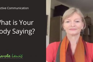 Video – What is your Body Saying?